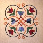 Celtic Applique Moroccan Style